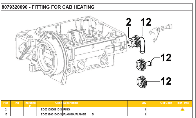 FITTING CAB HEATING