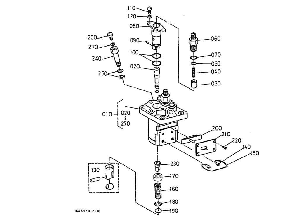 fuel pump  component parts